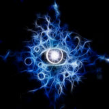 Oko abstrakt ilustracji