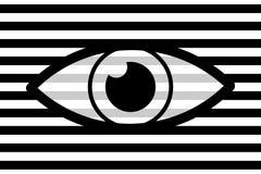 Oko abstrakta tło Ilustracja Wektor