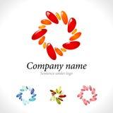 oko chwytający logo Zdjęcia Royalty Free