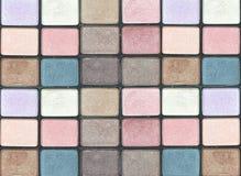 Oko cienia kosmetyków paleta Zdjęcie Royalty Free