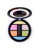Oko cienia paleta, makeup narzędziowy szablon Fotografia Stock