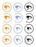 oko doktorski symbol ilustracji