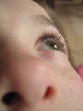 Oko dziecko Zdjęcie Royalty Free