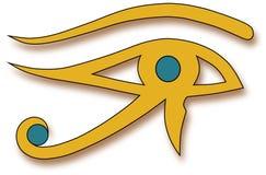 Oko Horus Fotografia Royalty Free