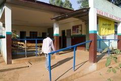 Oko klinika powierzchowność i czekania teren Obraz Royalty Free