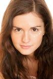oko kremowa kobieta Fotografia Royalty Free