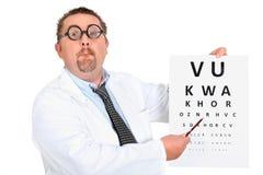 Oko lekarka Zdjęcie Stock