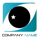 oko logo Fotografia Stock