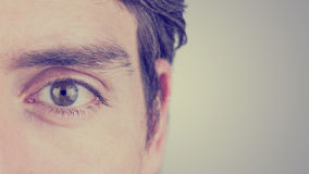 Oko mężczyzna Zdjęcie Royalty Free