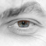 oko mężczyzna Zdjęcia Royalty Free
