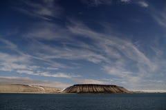 około Svalbardzie lusterka Obrazy Stock