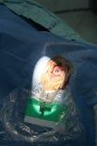 Oko operaci katarakta obraz stock