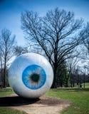 Oko saint louis, MO - Laumeier park - Obrazy Royalty Free