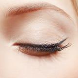 Oko strefy makeup Zdjęcie Stock