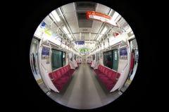 Oko widok Odakyu kolejka przy Shinjuku stacją w ranku zdjęcie royalty free