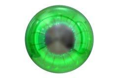 Oko z zieleń barwionym irysem Obrazy Royalty Free