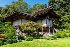 Okochi Sanso山别墅在京都 免版税库存照片