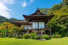 Okochi Sanso mountain villa in Kyoto Royalty Free Stock Photography