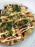 Okonomiyaki Imagem de Stock