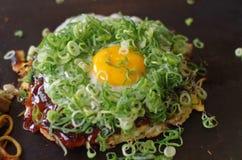 Okonomiyaki 免版税图库摄影