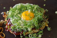 Okonomiyaki Fotografia Stock Libera da Diritti