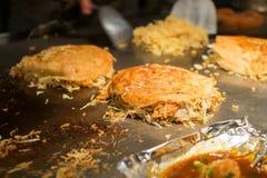 Okonomiyaki Obrazy Stock