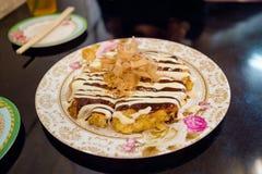 Okonomiyaki immagine stock libera da diritti