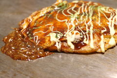 Okonomiyaki Royalty Free Stock Photos