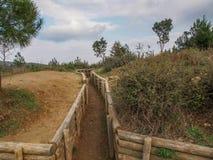 Okopy Gallipoli Zdjęcie Royalty Free