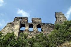 Okor城堡废墟 免版税图库摄影