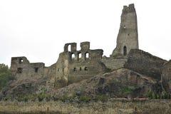 Okor城堡的废墟 库存照片