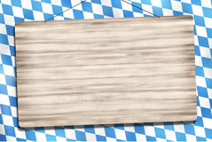 Okotberfest Bavaria Wood Sign Royalty Free Stock Image
