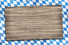 Okotberfest Bavaria Wood Sign Royalty Free Stock Photography