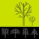 okrąża drzewa royalty ilustracja