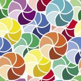okrąża kolorową mozaikę ilustracja wektor