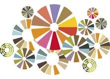 okrąża kolorowego Obrazy Stock
