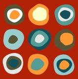 okrąża kolorowego wzór ilustracji