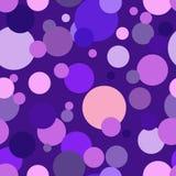 okrąża purpury Zdjęcia Royalty Free