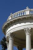 okrągłe balkon. zdjęcie royalty free