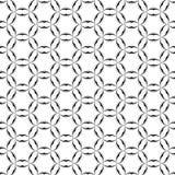 Okrąg gwiazd Celtycki Geometryczny Bezszwowy wzór Papier dla scrapbook Wektorowy tło Obrazy Stock