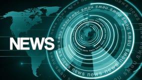 Okrąg kuli ziemskiej wiadomości płodozmienny tło 4k zdjęcie wideo