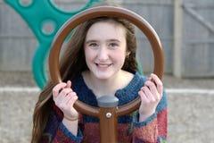 Okrąg ramy uśmiech Zdjęcie Royalty Free