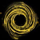 Okrąg robić błyskotliwe cząsteczki Ilustracja Wektor