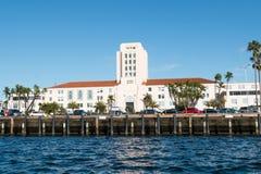 Okręg administracyjny administracji budynek w San Diego, Kalifornia obrazy royalty free