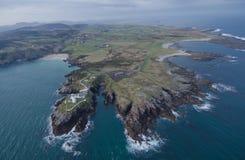 okręg administracyjny Donegal fanad głowa Ireland Obraz Royalty Free