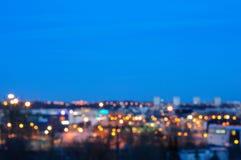 Okręg Tallinn, zamazujący Zdjęcia Royalty Free
