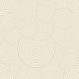 okręgi deseniują bezszwowego Wielostrzałowy nowożytny ilustracja wektor