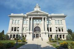 Okręgu administracyjnego gmach sądu w Missoula, Montana przód Zdjęcia Royalty Free