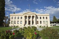 Okręgu administracyjnego gmach sądu Wiejski Ameryka Zdjęcia Royalty Free