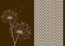okręgu dandelions skutka wzór ilustracji